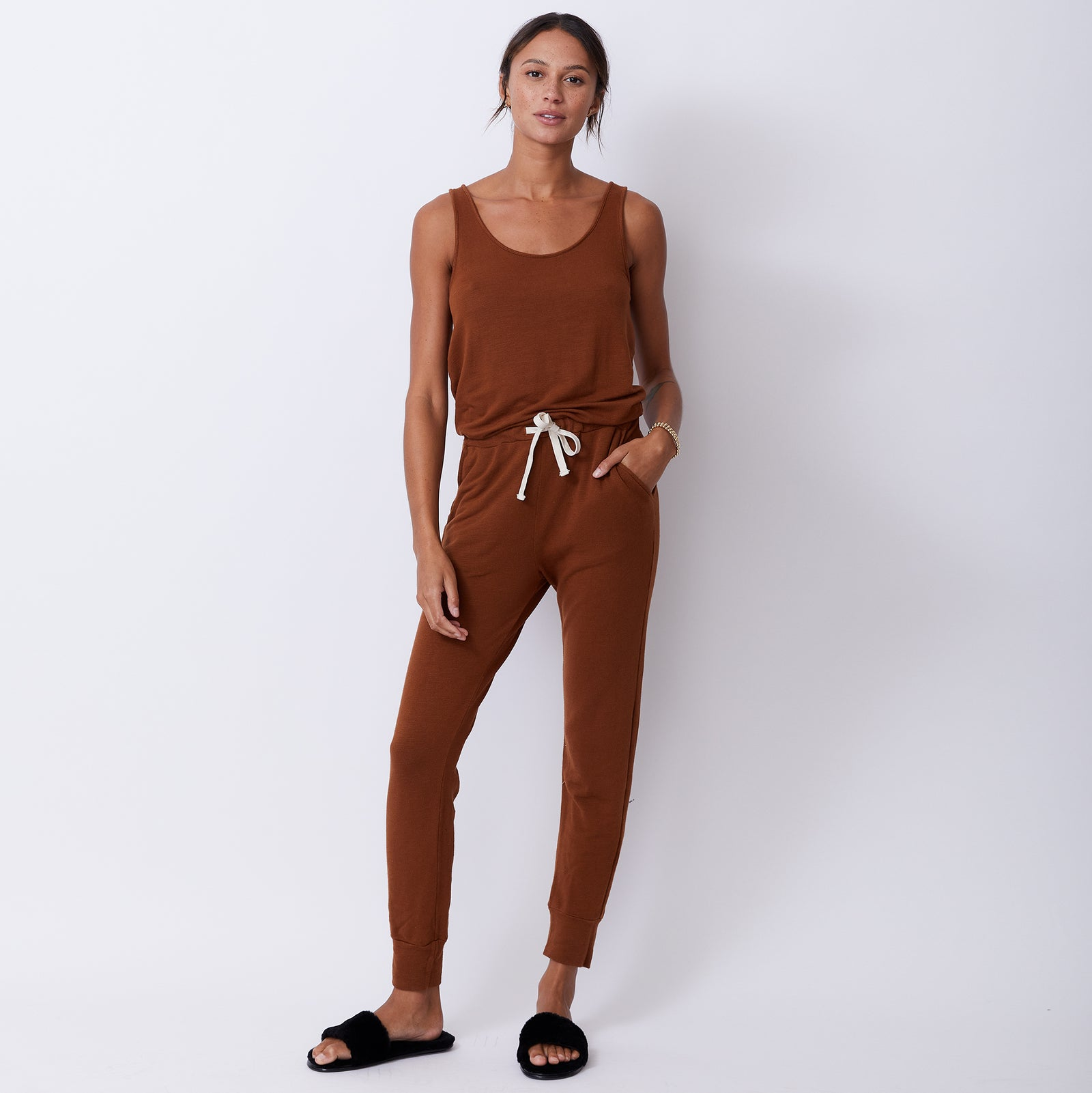 Supersoft Tank Jumpsuit