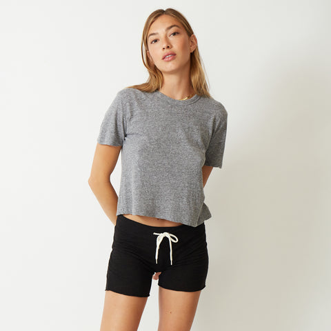Textured Tri-Blend Athletic Tee