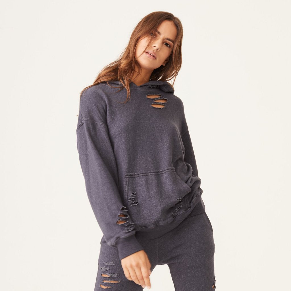 a119c43735f Distressed Oversized Hoody