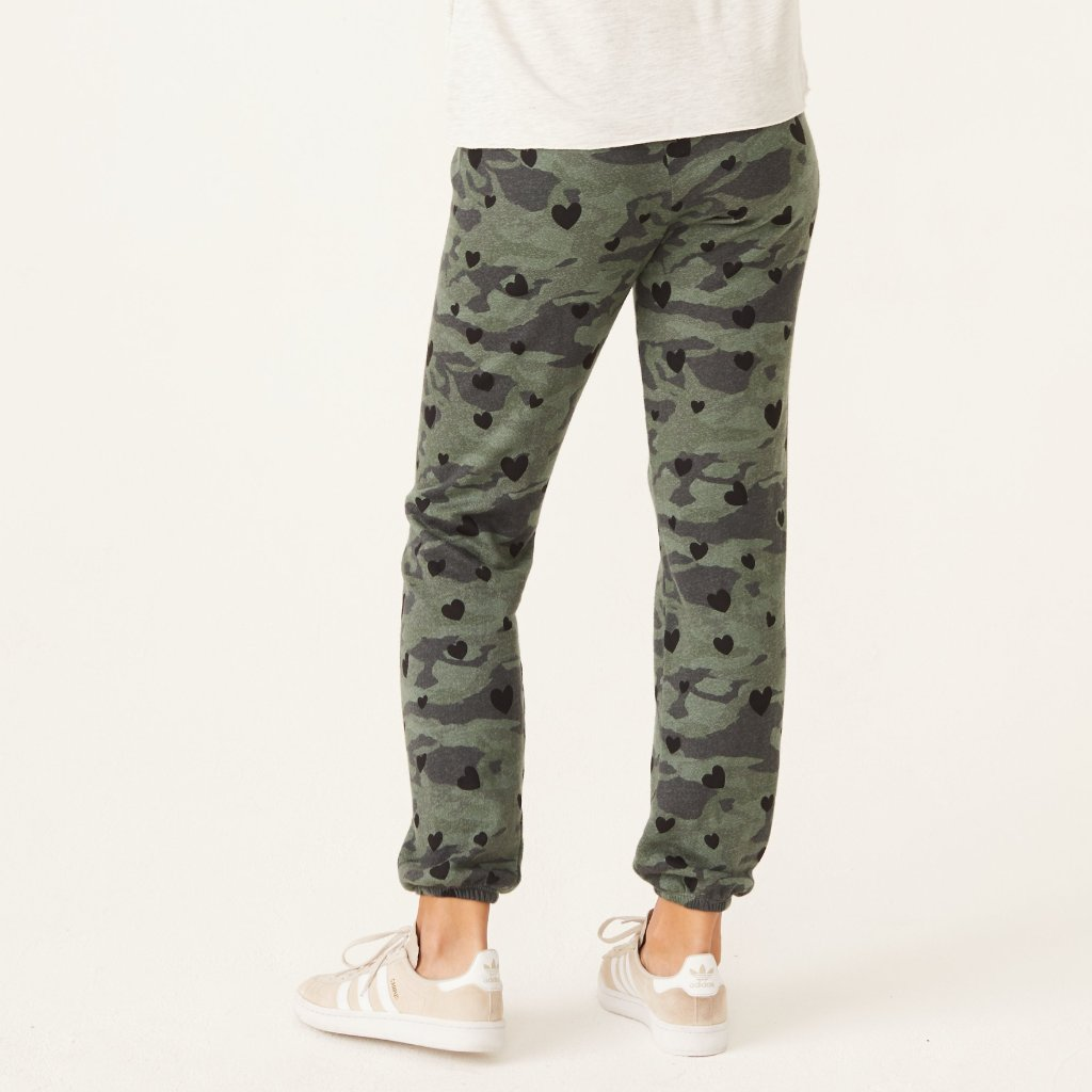 Camo Heart Sweats