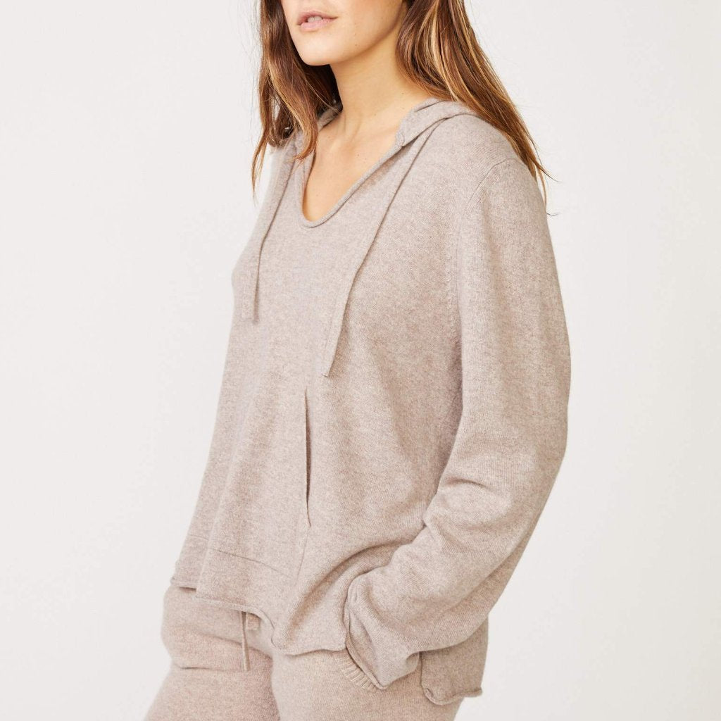 Cashmere Hooded Poncho