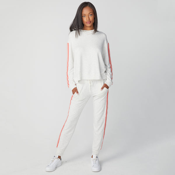 Supersoft Crochet Trim Sporty Sweats