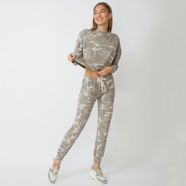Supersoft Urban Camo Boxy Sweatshirt