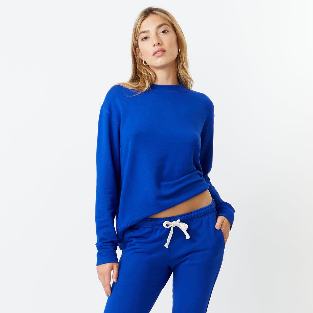 Supersoft Fleece Boyfriend Sweatshirt