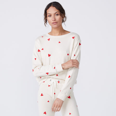 Embroidered Heart Boyfriend Sweatshirt (6214110675126)