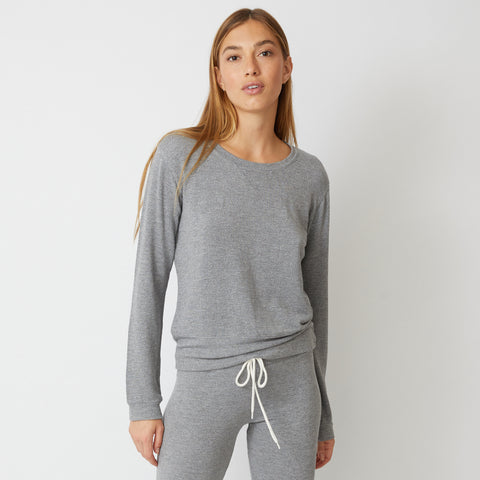 Heather Supersoft Crew Neck Sweatshirt (9535379972)