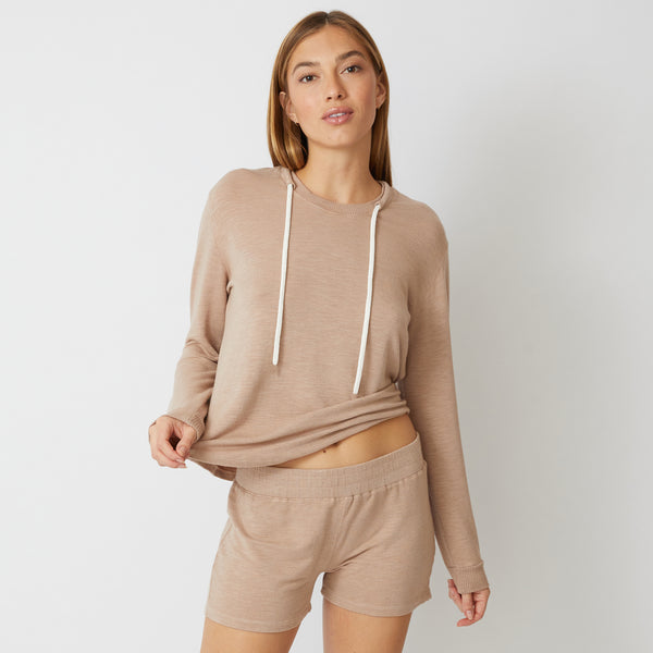 Supersoft Drawcord Sweatshirt