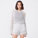 Open Knit Sweater (6592636747958)