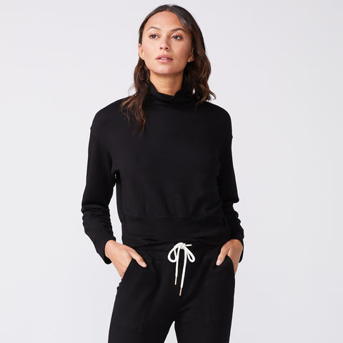 Mock Neck Slouchy Sweatshirt (6147256942774)