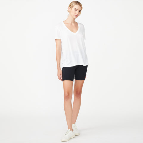 Tissue Relaxed V Neck Tee (9703671951)
