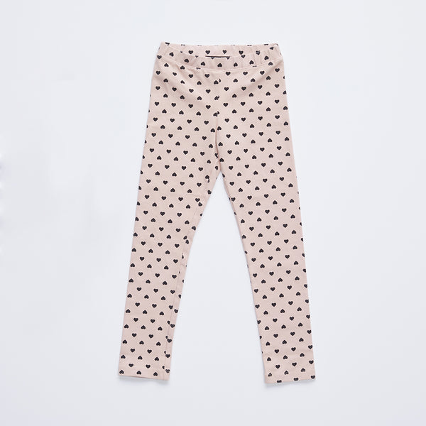 Kids Heart Legging