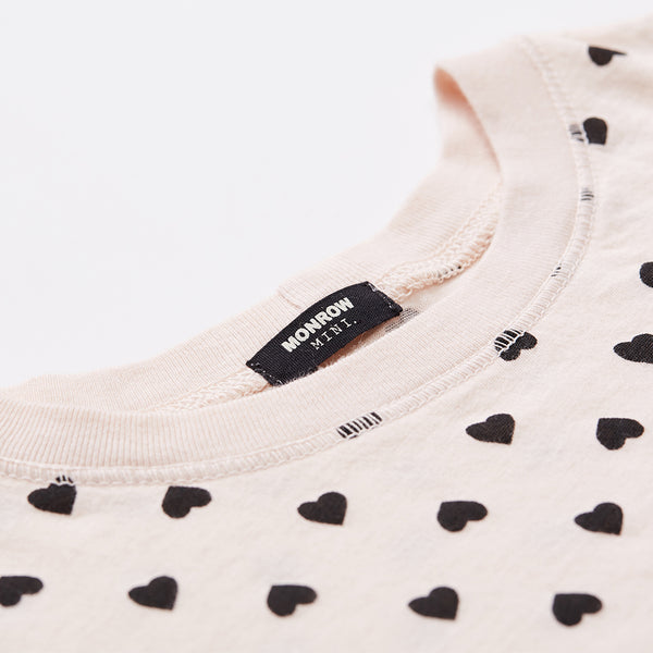 Kids Heart Crew Neck
