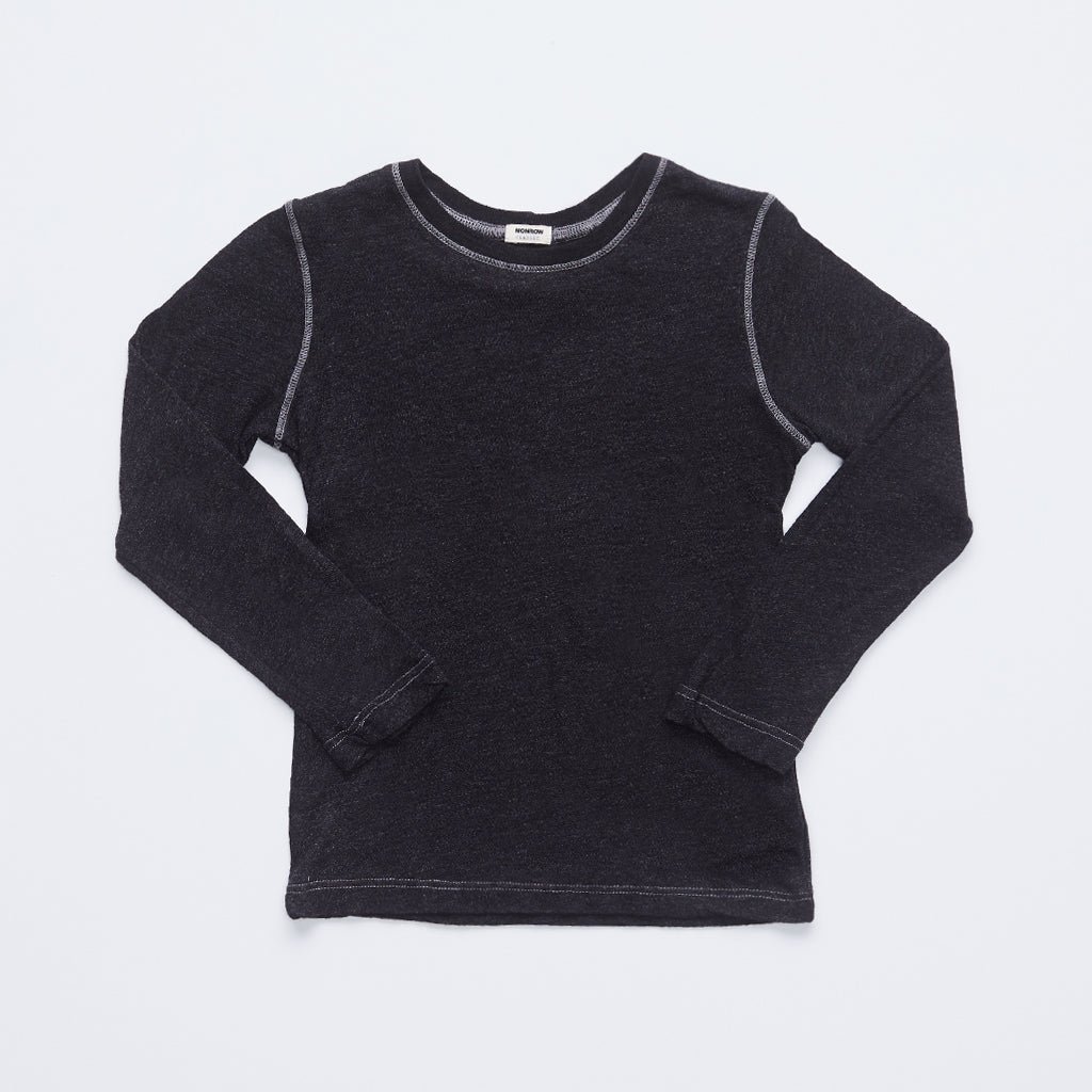 Kids Long Sleeve Crew Neck