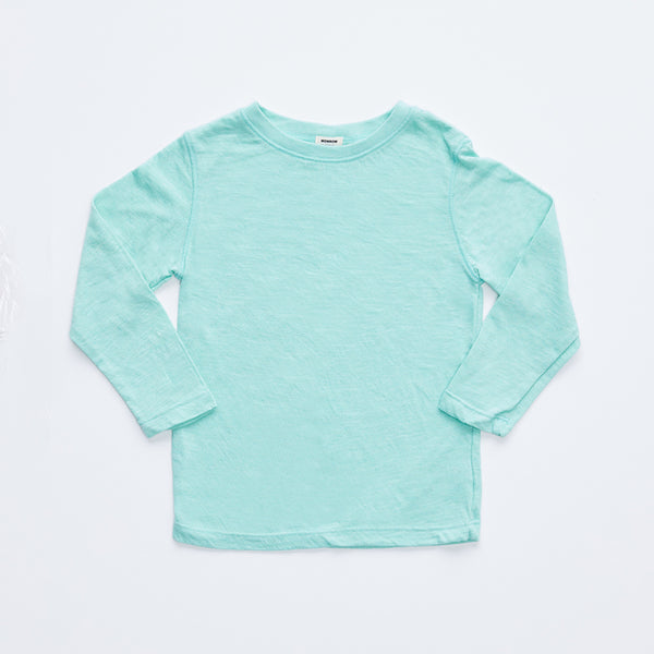 Kids Long Sleeve Crew Neck Tee