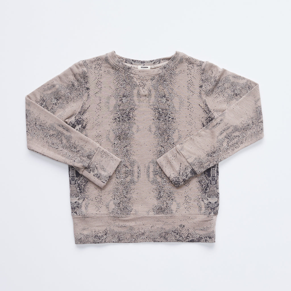 Kids Supersoft Snake Crew Sweatshirt