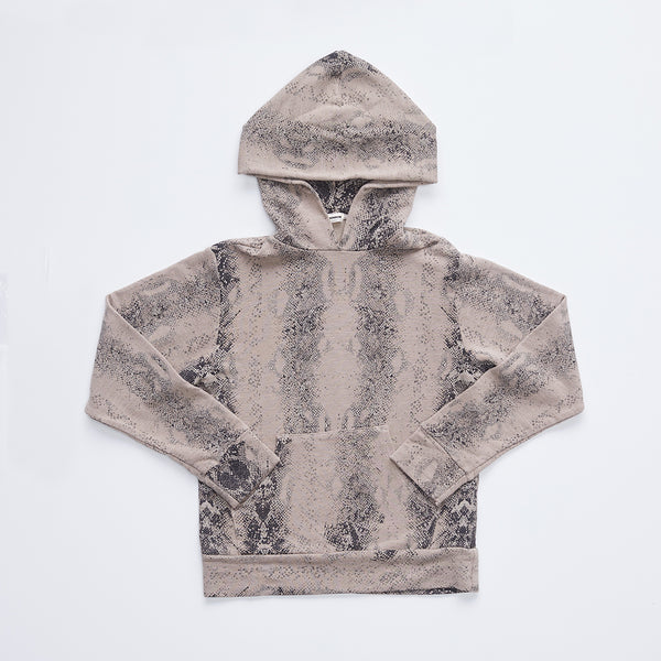 Kids Supersoft Snake Pullover Hoody