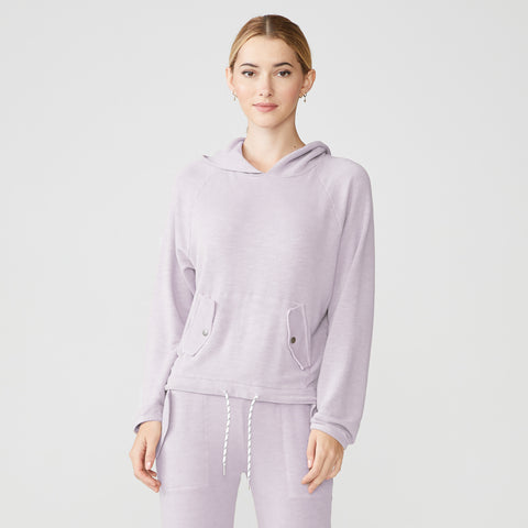 Supersoft Bungee Drawstring Hoody