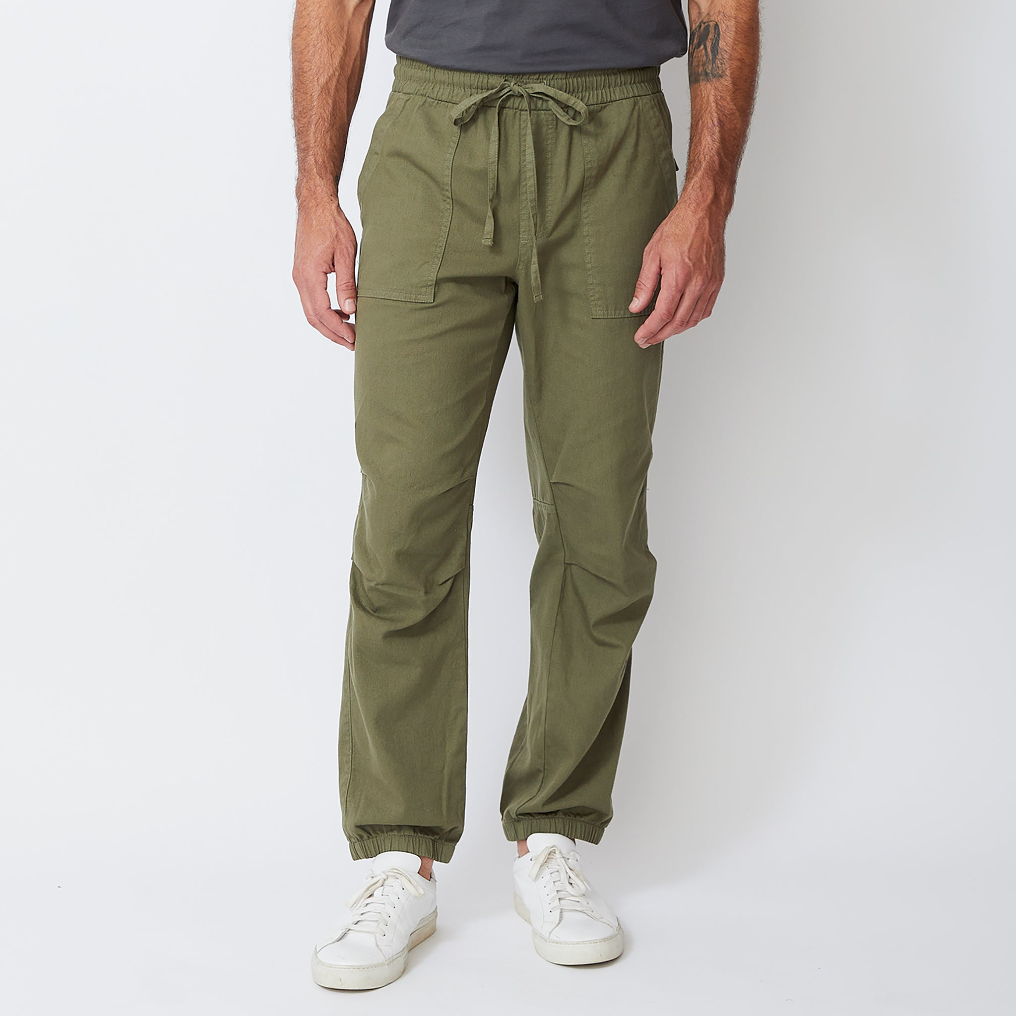 Patch Pocket Woven Jogger