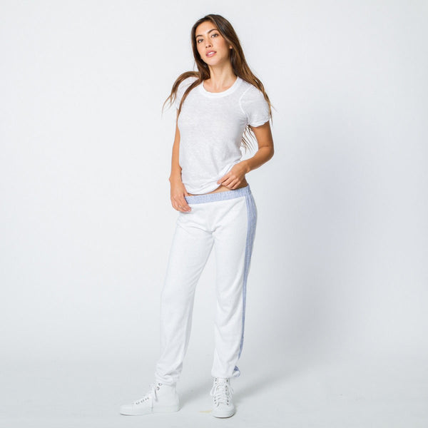 Stripe Linen Sweats