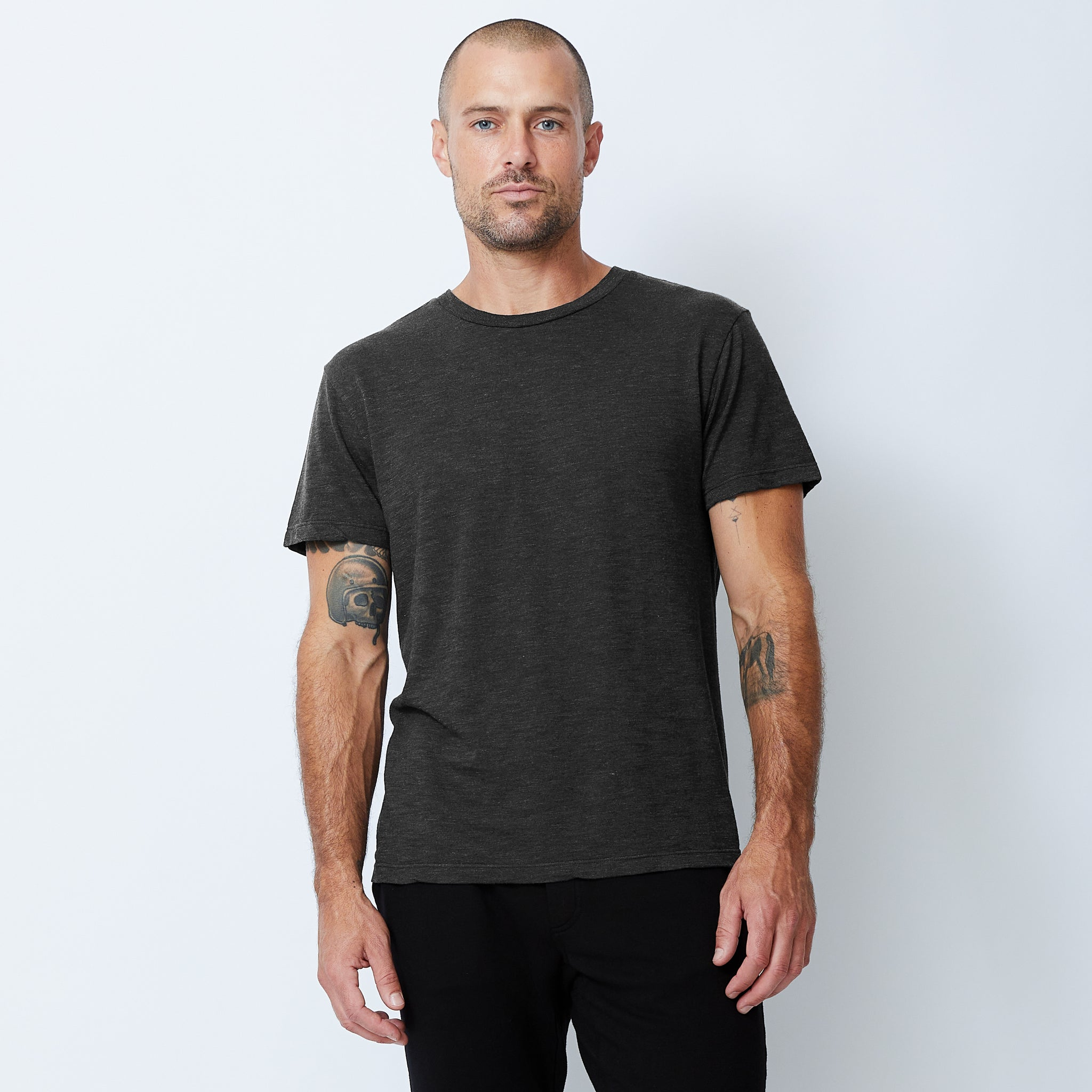 Textured-Tri Blend Relaxed Crew (4925977100390)
