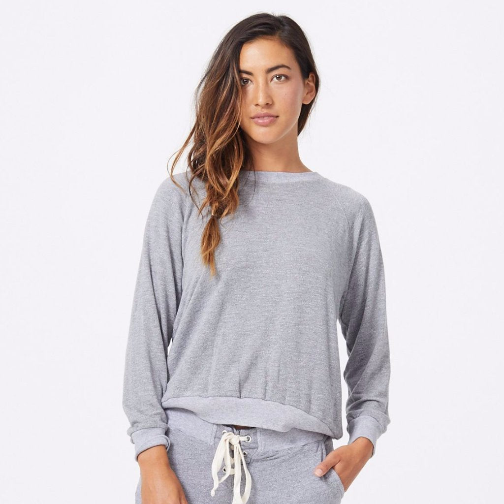 MONROW Woman Cotton-jersey Top Size S Discount Low Shipping Fee Free Shipping Latest Collections Clearance jjrzZNPMvk