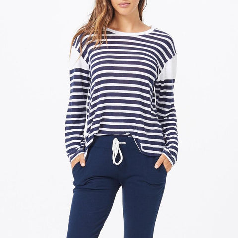 French Stripe Tee