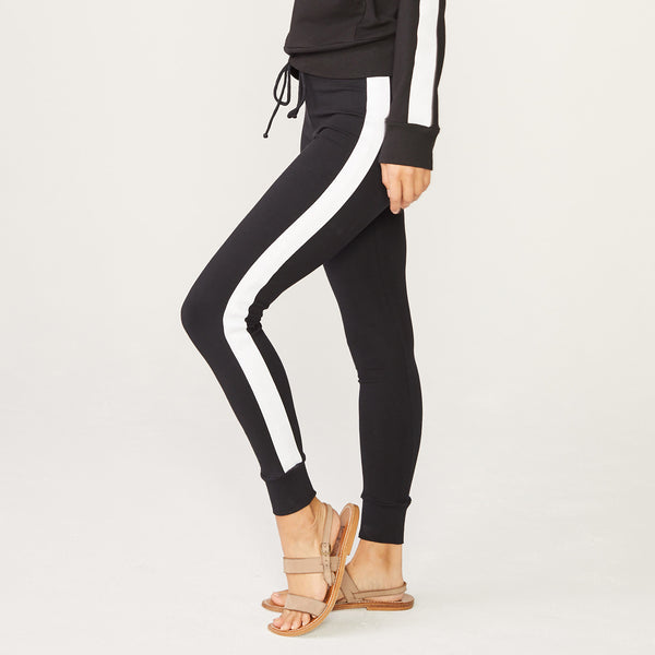 Star Elastic Stripe Skinny Sweats