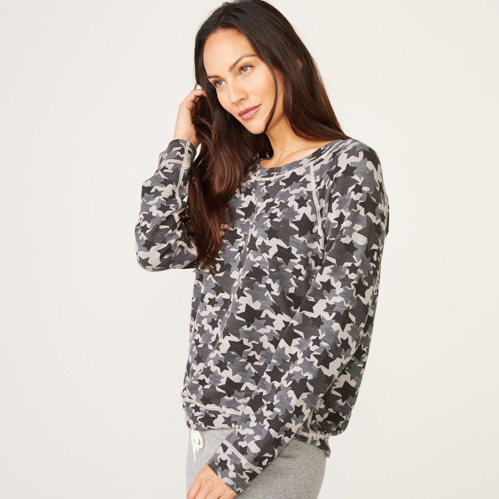 Supersoft Star Camo Raglan