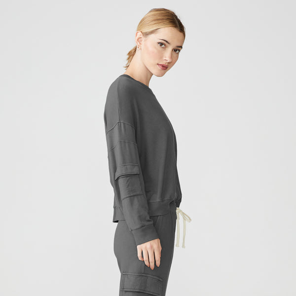 Patch Pocket Sweatshirt