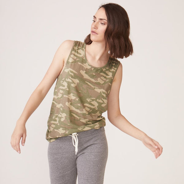 Camo Relaxed Tank