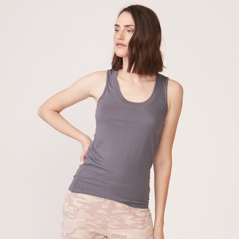 Cotton Modal Narrow Tank (763949776998)