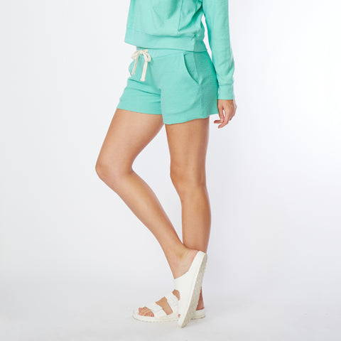 Fuzzy Fleece Pocket Shorts