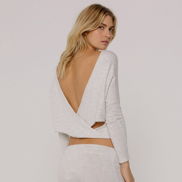 Supersoft Open Back Top