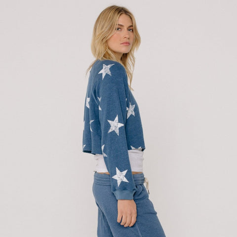 Cut Off Star Raglan