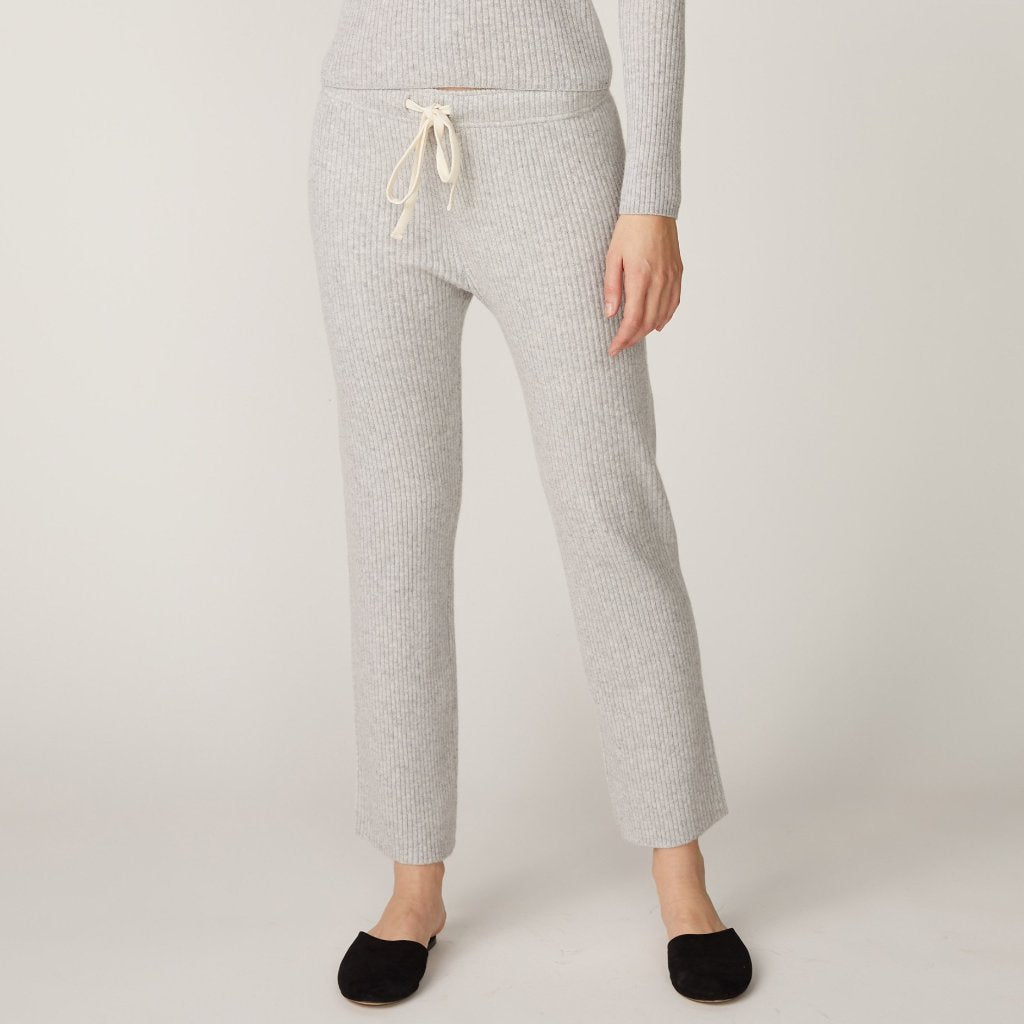Cashmere Rib Sweats