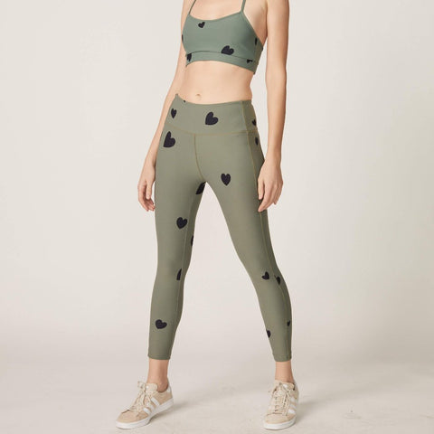 Scattered Heart Legging