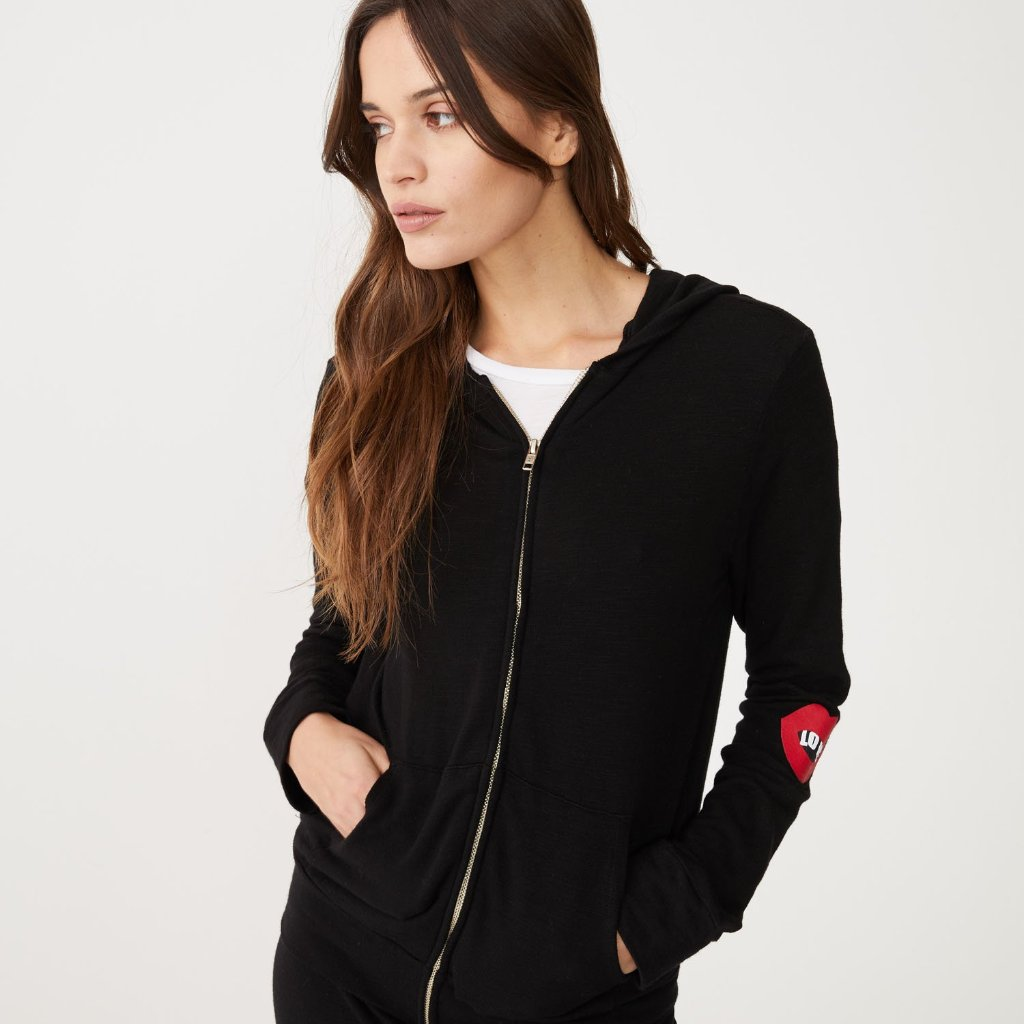 Supersoft Love Zip Up Hoody