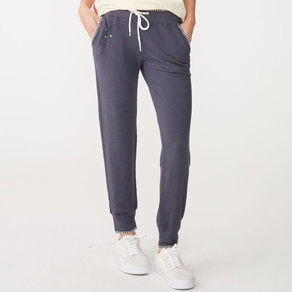 Supersoft Blanket Stitch Sweats