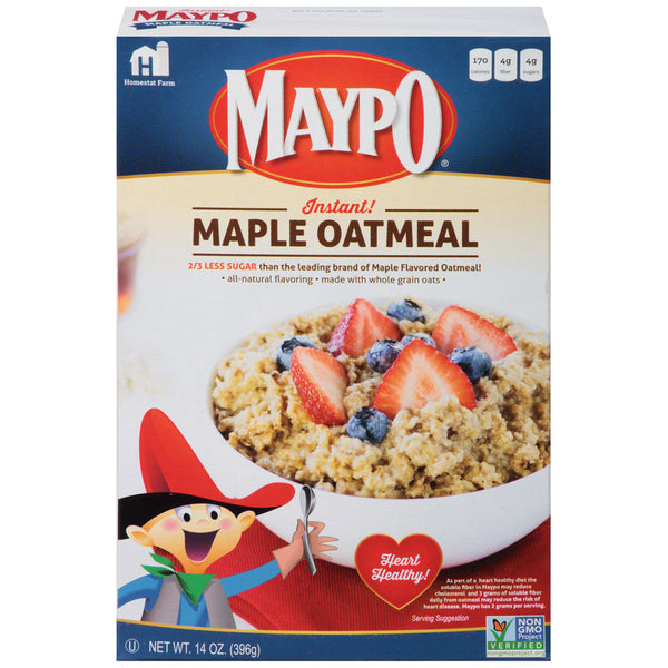 Maypo Instant Maple Flavored Oatmeal