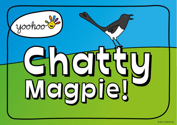 Chatty Magpie – the mighty box of fun!