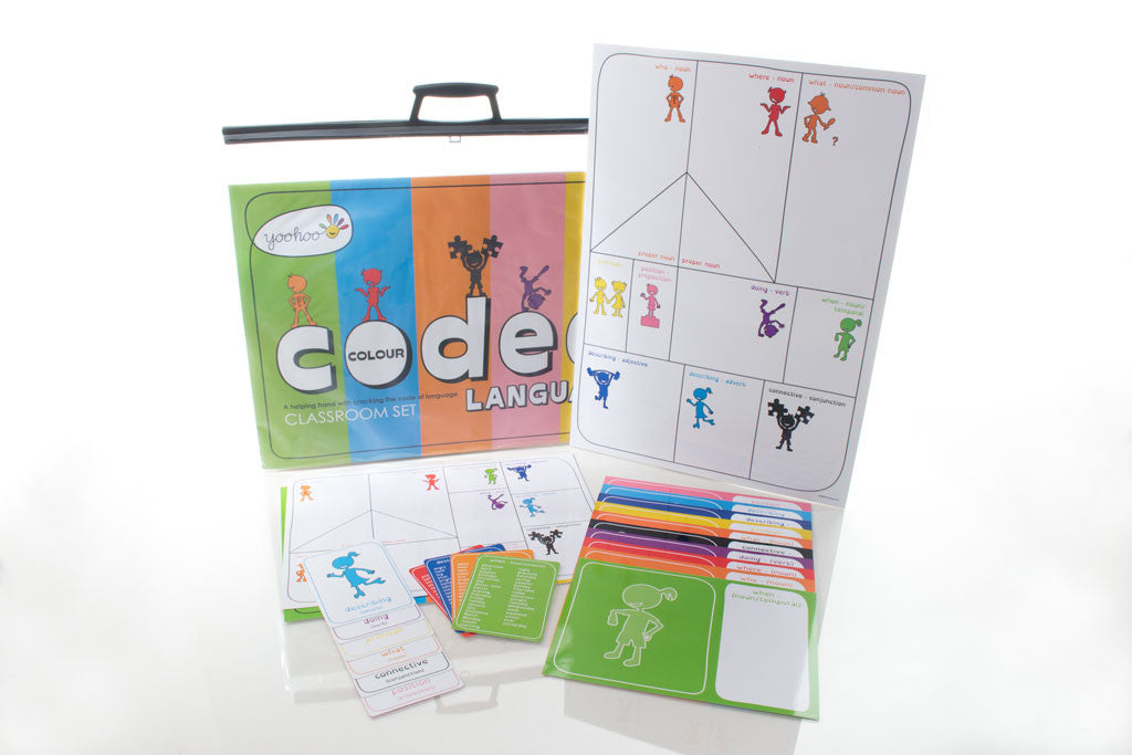 Colour Coded Language Classroom Set