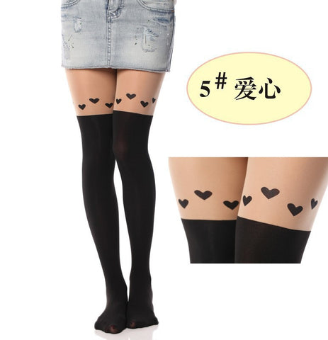 Women Totoro Tights - 16 Styles
