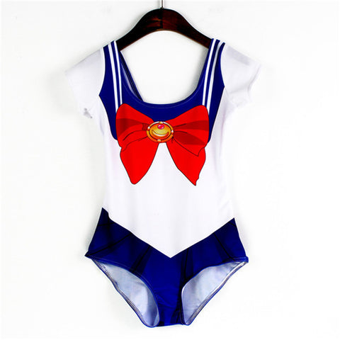 Summer Women One Piece Swimsuit