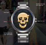 3D Skull Watch - 3 Models