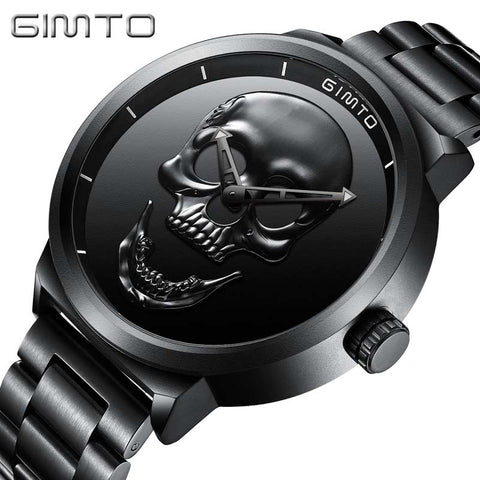 NEW SKULL WATCH 3D