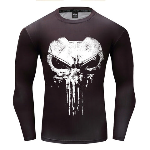 The Punisher Compression T-shirt
