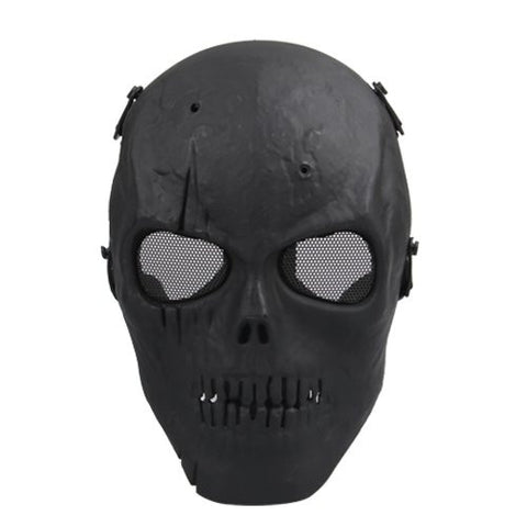 NFLC Airsoft Mask Skull - Black
