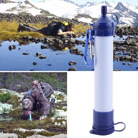 Personal Outdoor Water Filter Purifier