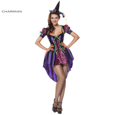 Witch Halloween Cosplay Costume
