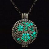 Luminous Vintage Steam Punk Glowing Necklace